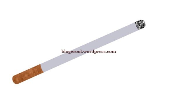 membuat gambar rokok menggunakan photoshop CS 3
